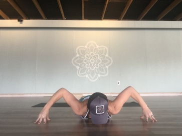 Double Front of the Shoulder Stretch